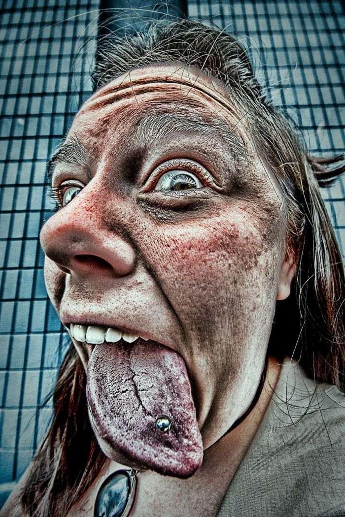 Crazy faces 05