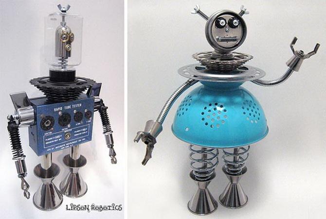 Роботы своими руками из подручных материалов для детей 33