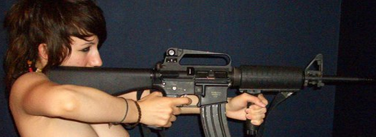 Girl and a Gun #2