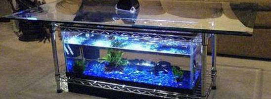 aquarium tische. Black Bedroom Furniture Sets. Home Design Ideas